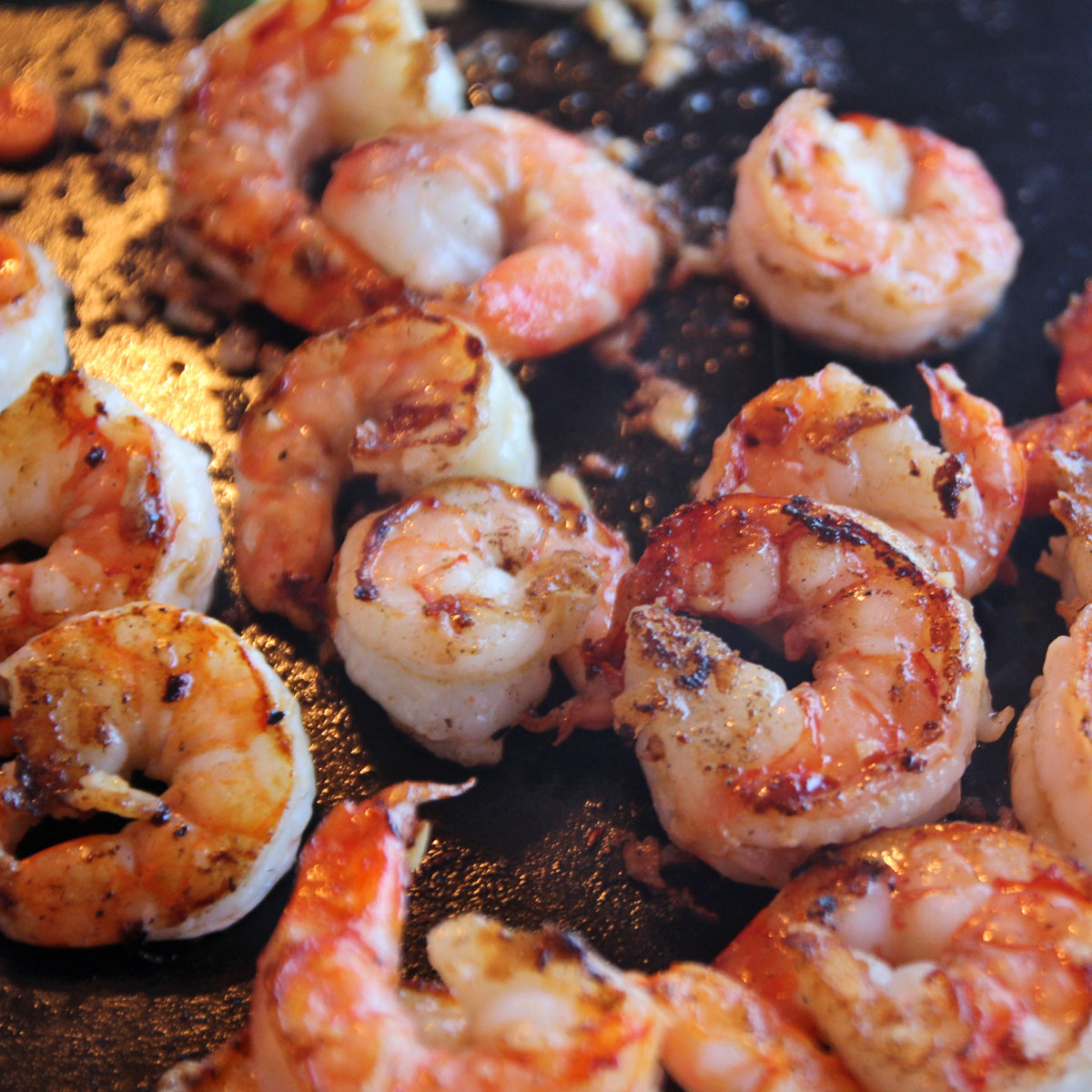 Bbq Grill Griddle Plate Teppanyaki Top Shrimp