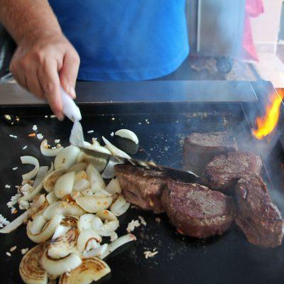 BBQ-Grill-Griddle-Plate-Teppanyaki-Grill-Top-Steak-Onions
