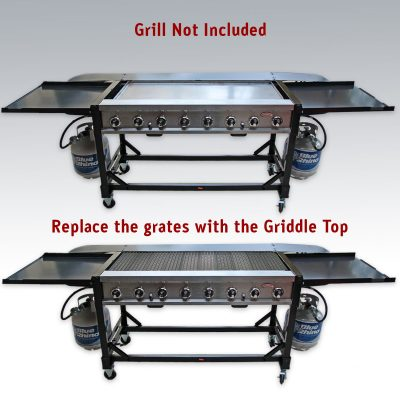 8 Burner Event Griddle Top