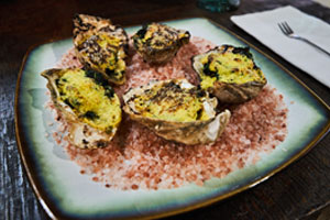 Oysters Rockefeller Recipe Griddle Top