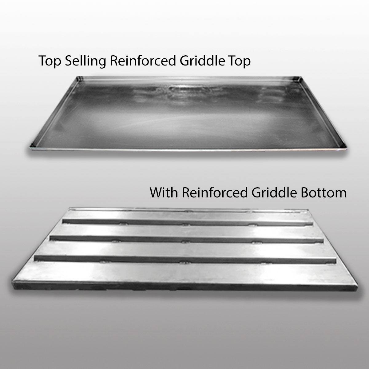 Top Selling Reinforced Griddle Master Griddle Top For All Grills | Teppanyaki  Grill Top | Griddle Top Plate | Custom BBQ Griddle Top | Outdoor Griddle ...